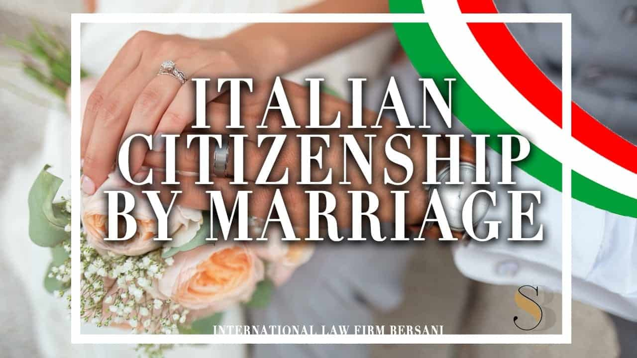 Italian Citizenship by Marriage: The #1 Guide You Need!