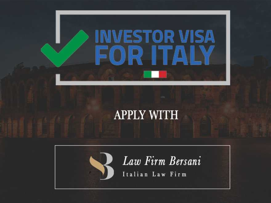 Investor Visa for Italy: Why Italy is the Best Option for Investment Visa 1