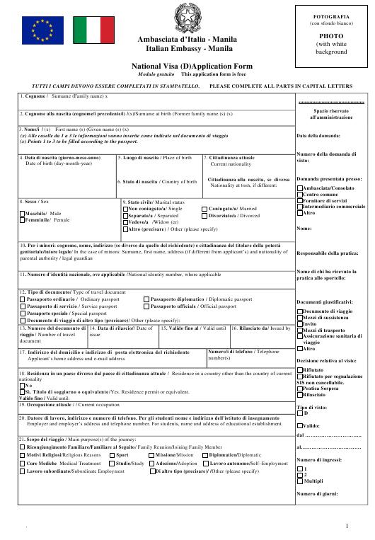 Elective Residence Visa Italy [2021 FULL GUIDE] 2