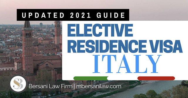 Elective-residence-visa-italy-elective-residence-program-2021-bersani-law